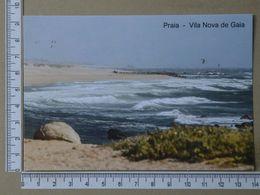PORTUGAL - PRAIA -  VILA NOVA DE GAIA -   2 SCANS     - (Nº36412) - Porto