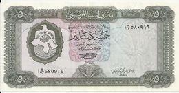 LIBYE 5 DINARS ND1972 VF++ P 36 B - Libyen