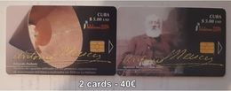 CUBA - TELEBARNA 2004 - 2 CARDS - Cuba