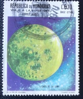 Republica De Honduras - A1/8 - (°)used - 1969 - Zicht Op De Maan - Honduras