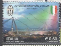 Italy Used 2012 Football, Soccer, Calcio, Juventus, Italian Champion 2011-2012 - 2011-...: Usados