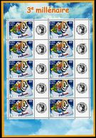 FRANCE - YT N° 3365A - Feuille - Neuf ** - MNH - Gomme Mate - France