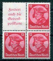 Deutsches Reich - Michel W45/S102 Ungebr.*/MH - Se-Tenant