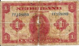 PAYS-BAS 1 GULDEN 1943 G P 64 - [2] 1815-… : Regno Dei Paesi Bassi