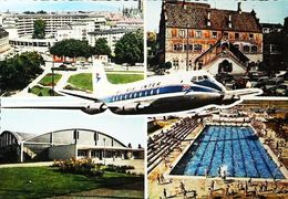 Cpsm MULHOUSE - AIR INTER -  1960s  - Aerodrome / Airport (Avion Aircraft Flugzeug) - Aerodromes