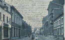 18 HANNUT : Rue Zénobe Gramma - Cachet De La Poste 1910 - Hannut