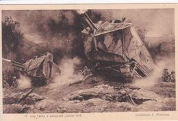 02 LONGPONT Les Tanks Juillet 1918 Guerre - Altri Comuni