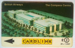 Cardlink GPT 7CKLA British Airways The Compass Center - Ver. Königreich