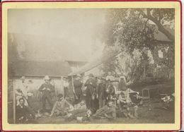 PHOTO  -17 X 11,5 Collée Sur Carton - PIERRE PERCEE 1890 - Places