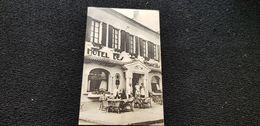 Cp 40 Landes VILLENEUVE DE MARSAN Hotel Des Voyageurs Café Du Commerce Etb Jean DARROZE Touring Club De France Portrait - Villeneuve De Marsan