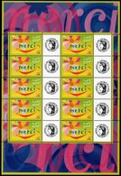 FRANCE - YT N° 3433 - Feuille - Neuf ** - MNH - Gomme Mate - France