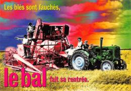 Tracteur Moissonneuse Batteuse Claas Publicité Ballantine's Whisky - Tractores