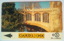 Cardlink  5CLKB The Bridge Of Sighs, St. John's College - Ver. Königreich