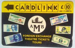 Cardlink 9CLKA AMB Foreign Exchange - Ver. Königreich