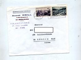 Lettre Flamme Pau  Sur Pic Midi Meuse - Postmark Collection (Covers)