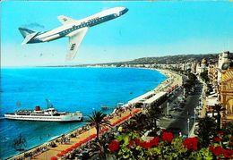 NICE  - AIR FRANCE Caravelle 1976   -  (Avion Aircraft Flugzeug) - Transport (air) - Airport