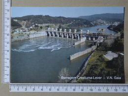 PORTUGAL - BARRAGEM DE COSTUMA-LEVER -  VILA NOVA DE GAIA -   2 SCANS     - (Nº36497) - Porto