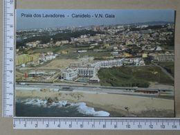 PORTUGAL - PRAIA DOS LAVRADORES -  VILA NOVA DE GAIA -   2 SCANS     - (Nº36499) - Porto