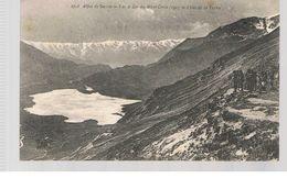 CPA Val Cenis (73) Lac Et Col Du Mont Cenis Vue De La Terra Animée - Val Cenis