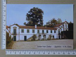 PORTUGAL - SOLAR VAN ZELLER -  VILA NOVA DE GAIA -   2 SCANS     - (Nº36506) - Porto