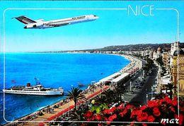 NICE COTE D'AZUR  - Avion Air France 1990s - Aerodrome / Airport (Avion Aircraft Flugzeug) - Transport (air) - Airport