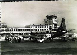 Cpsm NICE COTE D'AZUR   - Avion AIR FRANCE Piste D'embarquement - Aerodrome / Airport (Avion Aircraft Flugzeug) - Transport (air) - Airport