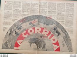 1931 LA CORRIDA - MATADOR - PICADOR - BANDRILLE - MISE À MORT - Newspapers