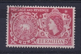 Bermuda: 1953/62   QE II - Pictorial    SG148   5/-   Used - Bermuda