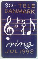 30 Kr. Jul 1998 Music - Denmark