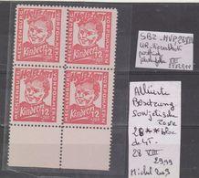 TIMBRES D ALLEMAGNE  Occup Alliés > Zone Soviétique ALLIIERTE BESETZUNG SOWJETISCHE Nr 28 ** BLOC DE 4 T  COTE 29.99 € - Sowjetische Zone (SBZ)