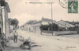 52 - N°111282 - Villiers-en-Lieu - La Grande-Rue - France