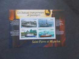 SAINT PIERRE Et MIQUELON  - Blocs Feuillets   N° BL 12  Année 2007  Neuf  XX ( Voir Photo ) - Blocs-feuillets