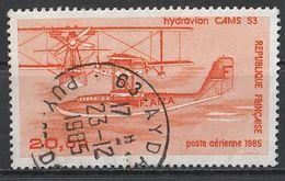 Timbre France Poste Aérienne Aviation Hydravion CAMS 53  N° Yvert PA58 De 1985 Oblitéré - 1960-.... Oblitérés