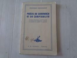 """LIBRO, GIACOMO GIACOMINI """"PRECIS DE COMMERCE ET DE COMPTABILITE' - 1938 - LEGGI - Wiskunde En Natuurkunde"""