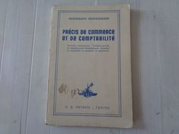 "LIBRO, GIACOMO GIACOMINI ""PRECIS DE COMMERCE ET DE COMPTABILITE' - 1938 - LEGGI - Matematica E Fisica"