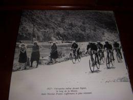 CYCLISME COUPURE LIVRE C288 PARIS BRUXELLES 1927 VERVAECKE Le LONG De La MEUSE - Sport