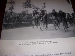 CYCLISME COUPURE LIVRE C290 CHAMPIONNAT Du MONDE 1925 HOEVENAERS - Sport