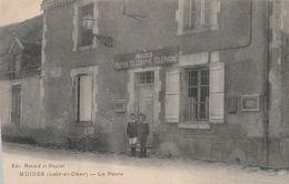 CPA 41 MUIDES  LA POSTE ANIMEE   ETAT - France