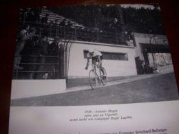 CYCLISME COUPURE LIVRE C294 TROPHEE BARACCHI 1936 Antonin MAGNE - Sport