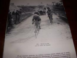 CYCLISME COUPURE LIVRE C297 PARIS BREST PARIS 1921 MOTTIAT Dans Le FINISTERE - Sport