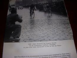 CYCLISME COUPURE LIVRE C298 PARIS BREST PARIS 1948 HENDRICKX NEUVILLE à BOULOGNE - Sport