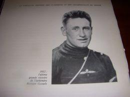CYCLISME COUPURE LIVRE C302 BORDEAUX PARIS 1932 PORTRAIT Romain GYSSELS - Sport