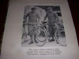 CYCLISME COUPURE LIVRE C305 CHAMPIONNAT Du MONDE 1931 Leargo GUERRA VIGNOLI - Sport