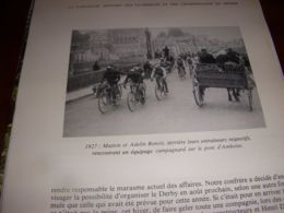 CYCLISME COUPURE LIVRE C308 BORDEAUX PARIS 1927 MATTON BENOIT PONT AMBOISE - Sport
