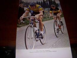 CYCLISME COUPURE LIVRE C326 THURAU GIOS POLLENTIER Au Dos Michel LAURENT - Sport