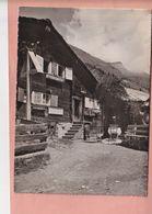 OUDE POSTKAART ZWITSERLAND -  SCHWEIZ -      SUISSE - TEEHUNLI AROLEID - ZUM SEE - FAM. TAUGWALDER  1948 - VS Valais