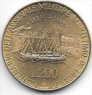 *italy 200 Lire 1989  Km 130  Unc - 1946-… : Republic