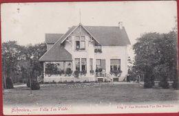 Schoten Schooten Villa Ten Velde 1908 Geanimeerd - Schoten