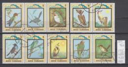 96K289 / 1983 - Michel Nr. 2798-2807 Used ( O ) Flora And Fauna - Birds , Cuba Kuba - Kuba