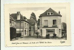 50 . SAINT JEAN LE THOMAS . LA POSTE ET L HOTEL DES BAINS - Autres Communes